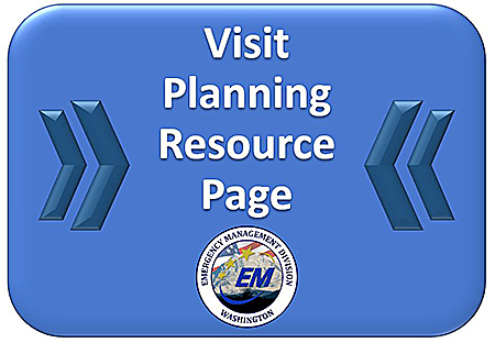 A blue banner that encourages you to visit the planning resource page